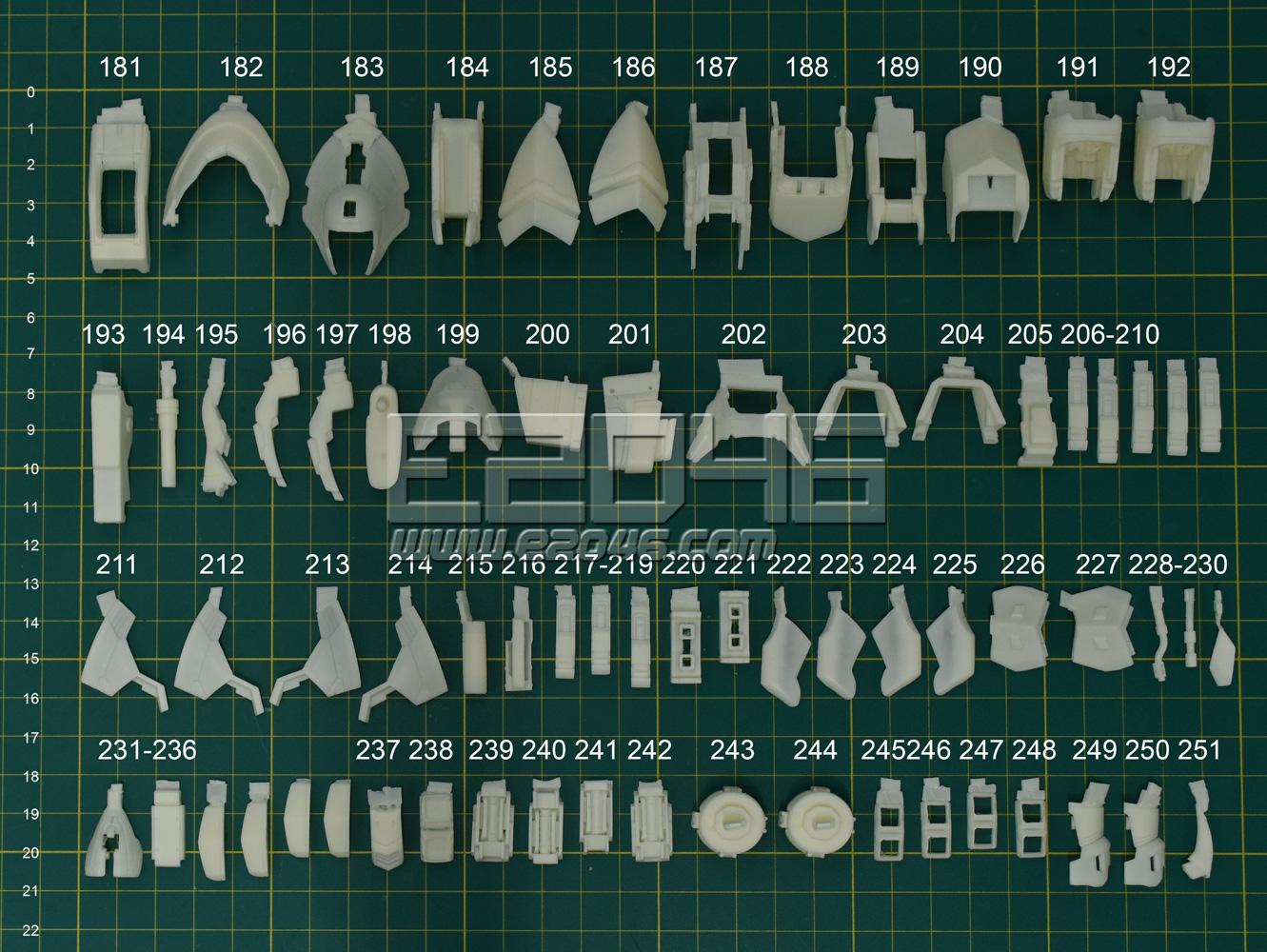 MSN-04 Sazabi Version Ka Conversion Kit
