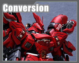 RT3190 1/100 MSN-04 Sazabi Version Ka Conversion Kit