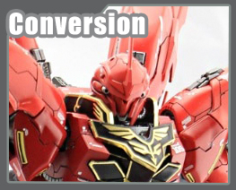 RT3516 1/100 MSN-06S Sinanju Conversion Kit