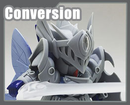 RT3623 SD SD Crest Knight Luna Gundam Conversion Kit