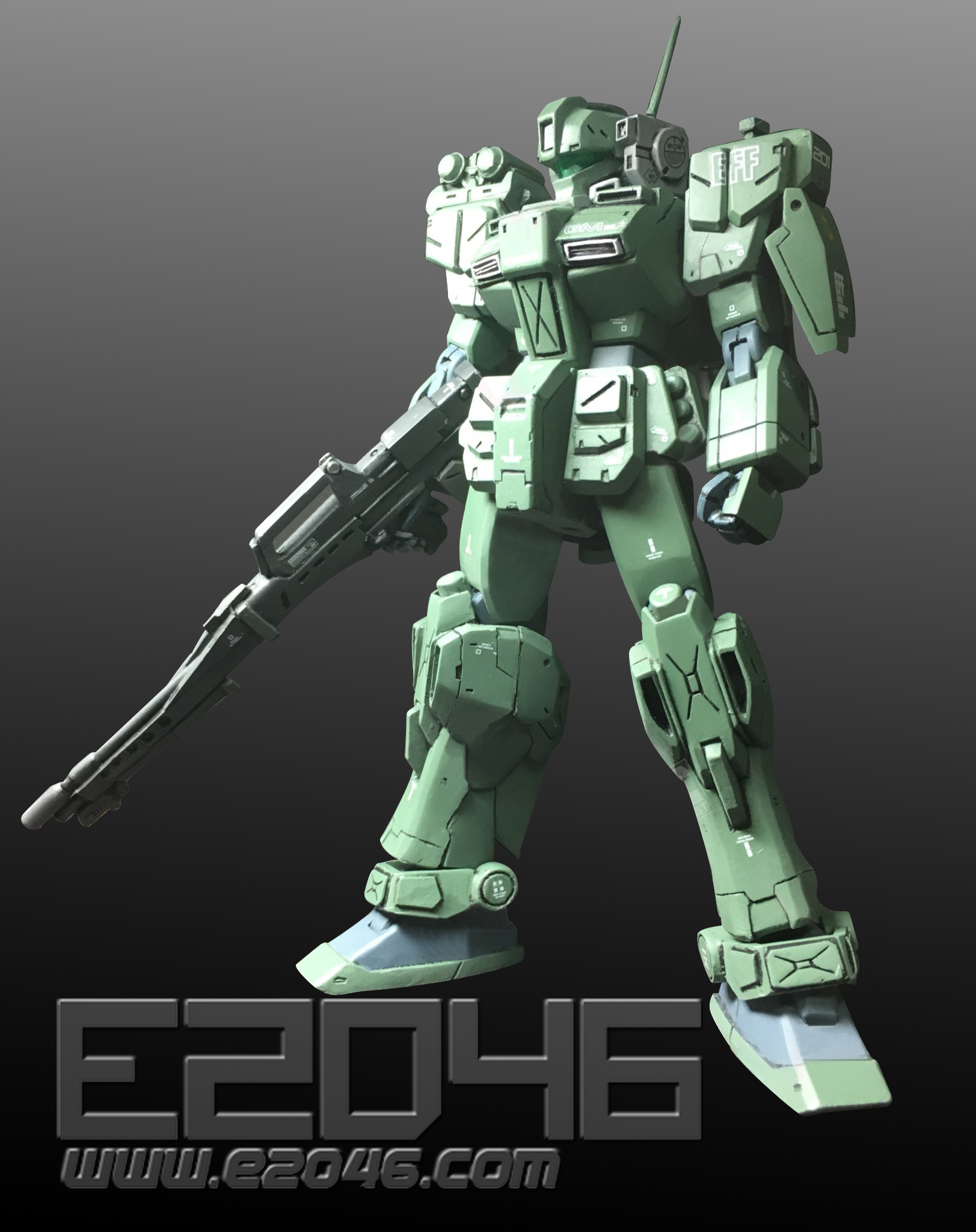 RGM-79FD Armored GM Conversion Kit