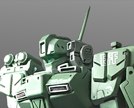 RT3339 1/144 RGM-79FD Armored GM Conversion Kit
