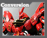 RT2897 1/100 Sazabi Sleeves Version conversion parts kit