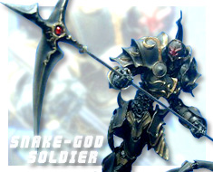 RT1577 1/100 Snake-God Soldier