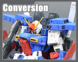 RT1520 1/100 MSZ-010 ZZ Gundam Version KA Conversion Parts