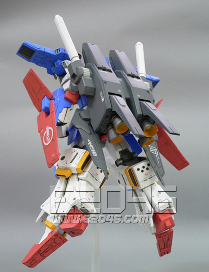 MSZ-010 ZZ Gundam Version KA Conversion Parts