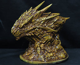 RT3124  Dragon Bust