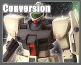 RT1265 1/100 GM COMMAND Conversion Parts