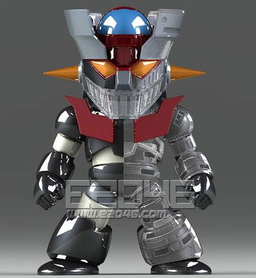 Mazinger Z Clear Armor Version