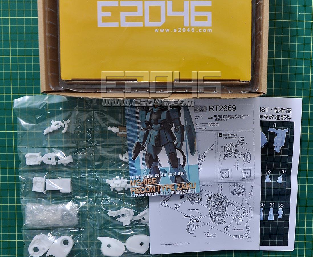 MS-06E Recon Type Zaku Conversion kit