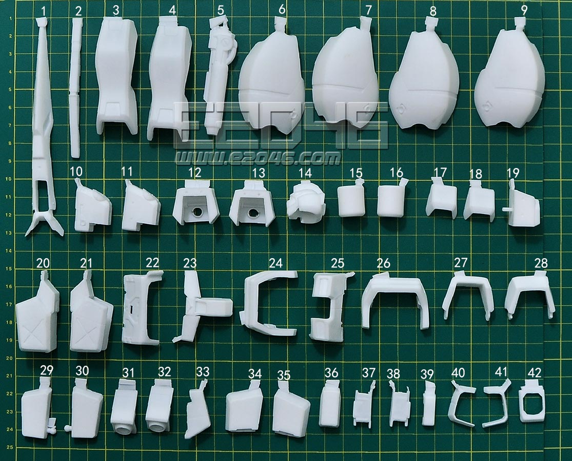 GM Cannon MG Conversion Parts
