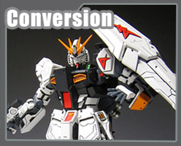 RT1695 1/144 Nu Gundam Ev.5 Conversion Parts