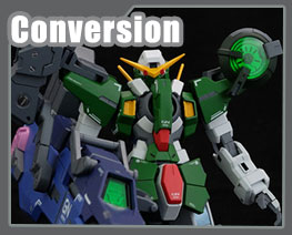 RT3198 1/144 Gundam Dynames Torpedo Coneversion Kit