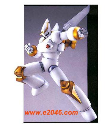 Super Power Robot - White