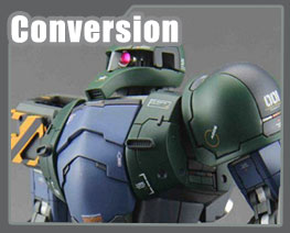 RT3085 1/100 Zaku I Conversion Kit