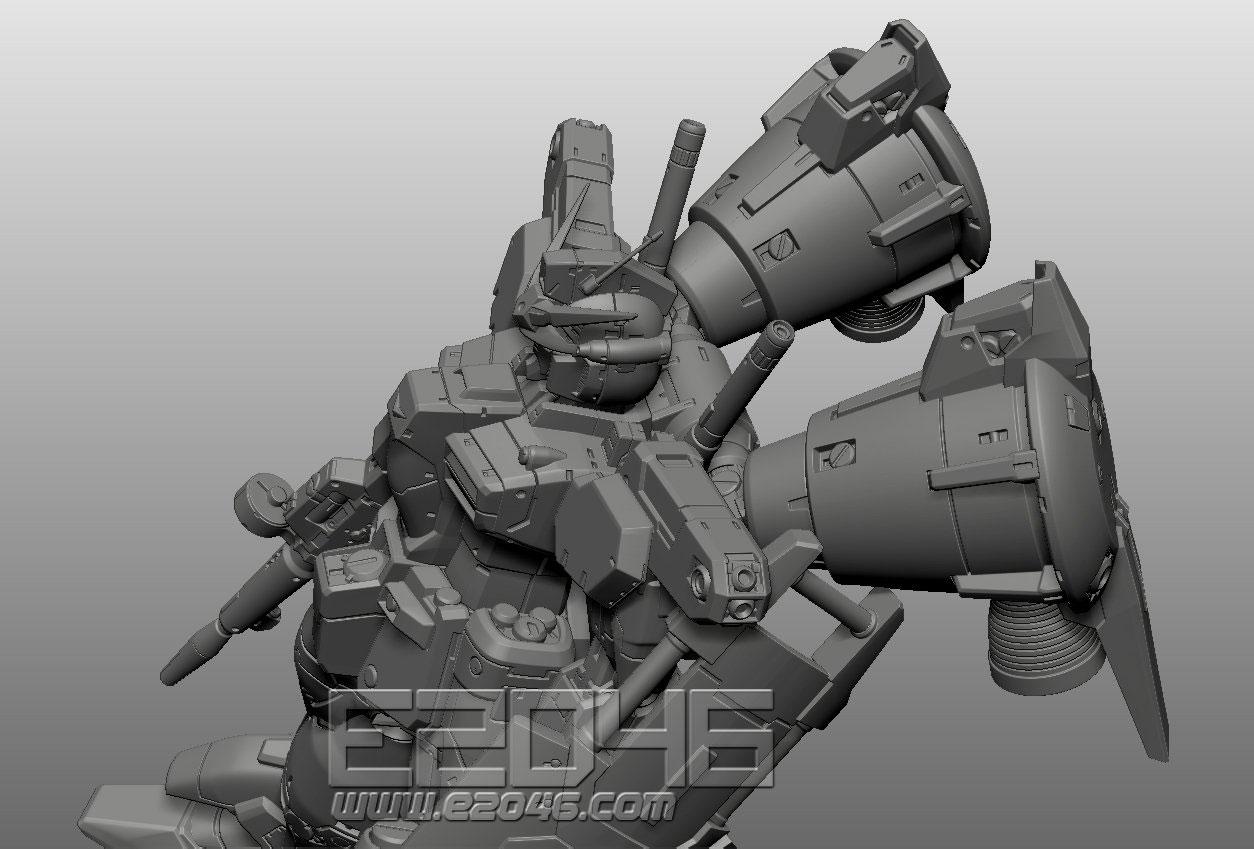 RX-78GP01 Gundam Zephyranthes