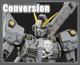 RT3232 1/100 Crossbone Gundam X1 Conversion Kit