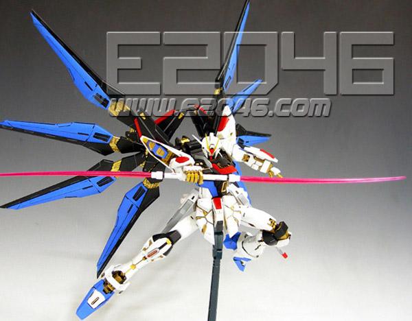 Strike Freedom Gundam Ver.Patchwork Conversion Parts