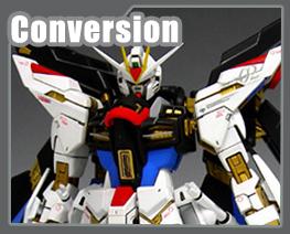 RT1590 1/100 Strike Freedom Gundam Ver.Patchwork Conversion Parts