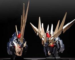RT3665 1/35 Banshee Unicorn Gundam Head Set