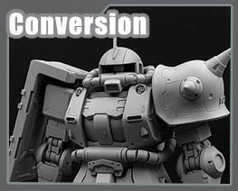 RT3222 1/100 Char's Zaku II Version Conversion Kit