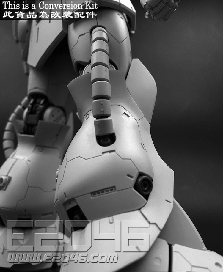 Char's Zaku II Version Conversion Kit