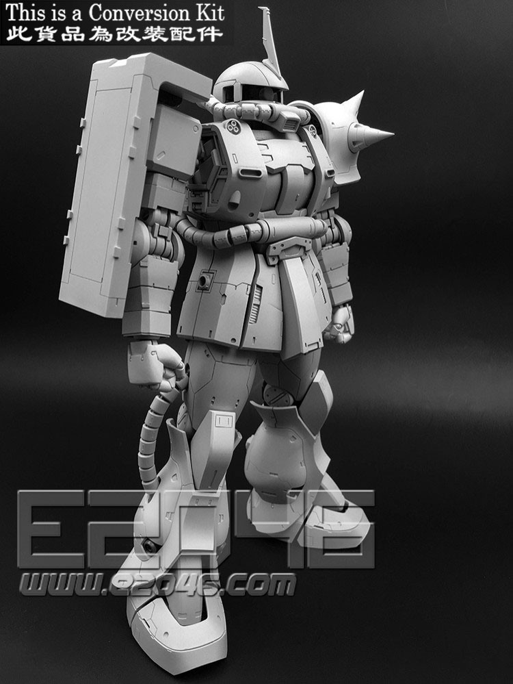Char's Zaku II Version Conversion Kit