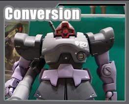 RT2444 1/144 MS-09 Dom Conversion Parts