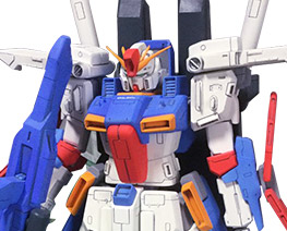 RT3055 1/144 Amplified ZZ Gundam