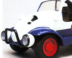RT1096 1/24 Future Cop Car