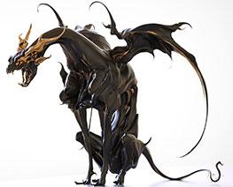 RT3229  Kurogane Dragon
