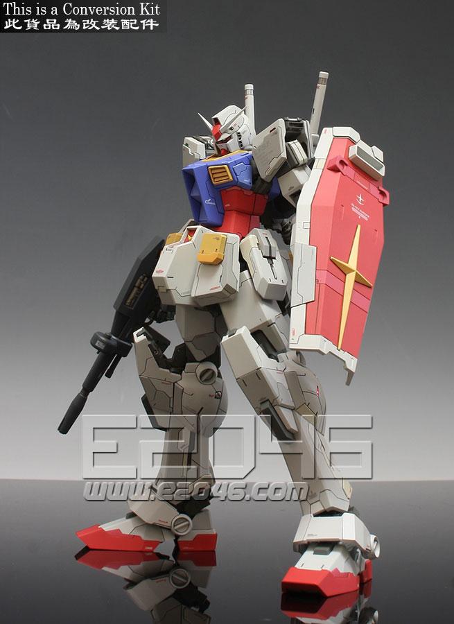RX-78-2 Gundam Extra-Fit Conversion Parts