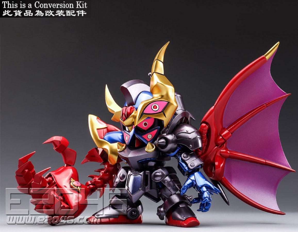 SD Cursed Knight Gundam Conversion Kit