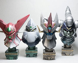 RT3317  Super Robot Bust Set 3
