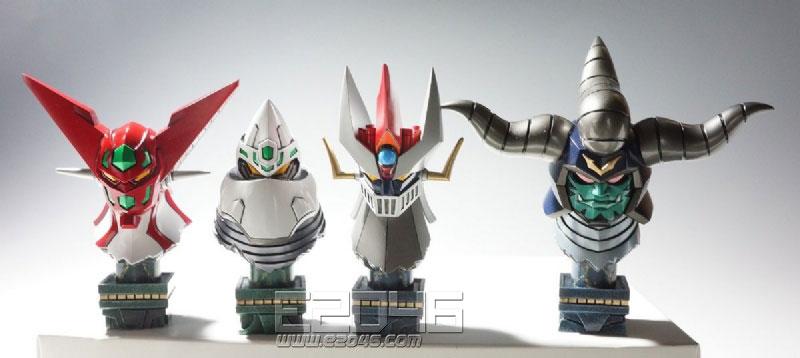 Super Robot Bust Set 3