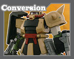 RT1716 1/100 MS-06D Zaku Conversion Parts