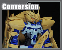 RT3412 1/100 Gundam Astray Blue Frame Third Conversion Kit