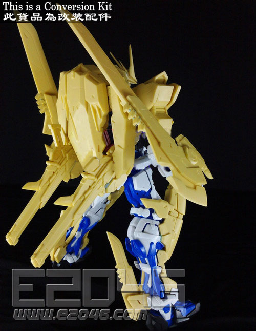 Gundam Astray Blue Frame Third Conversion Kit