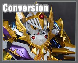 RT3675 SD SD Vassal Knight Gundam Ryuusou Kakusei Version Conversion Kit