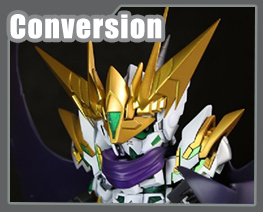 RT3601  SD Knight Unicorn Gundam Conversion Kit