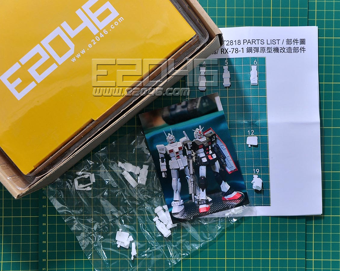 RX-78-1 Prototype Gundam Conversion Parts