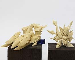 RT2260  SD Taiyoukishi God Gundam & God Kaiser