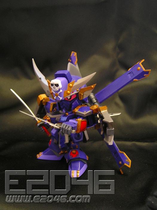 SD Musha Crossbone Gundam