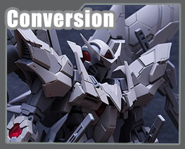 RT3207  Gundam Exia Dark Matter Conversion Kit