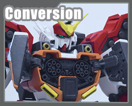 RT3352 1/100 Gundam Heavyarms Version F Conversion Kits