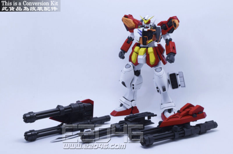Gundam Heavyarms Version F Conversion Kits