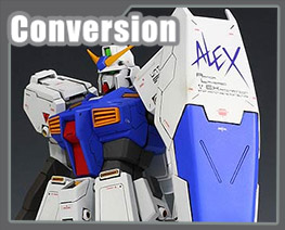 RT1680 1/100 RX-78 Gundam NT-1 Alex Conversion Kit