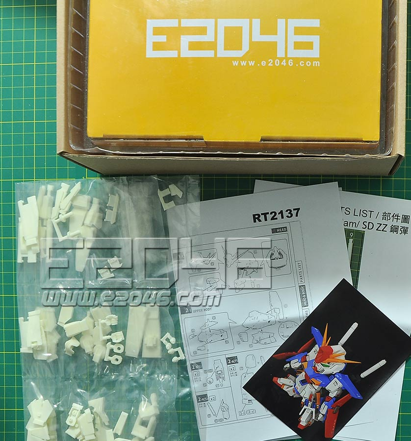 SD ZZ Gundam