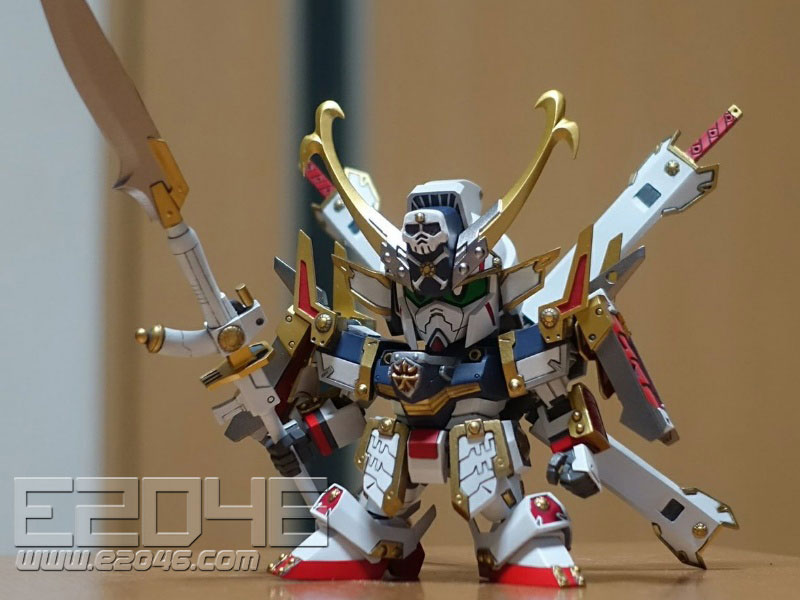 SD Cross Bone Gundam