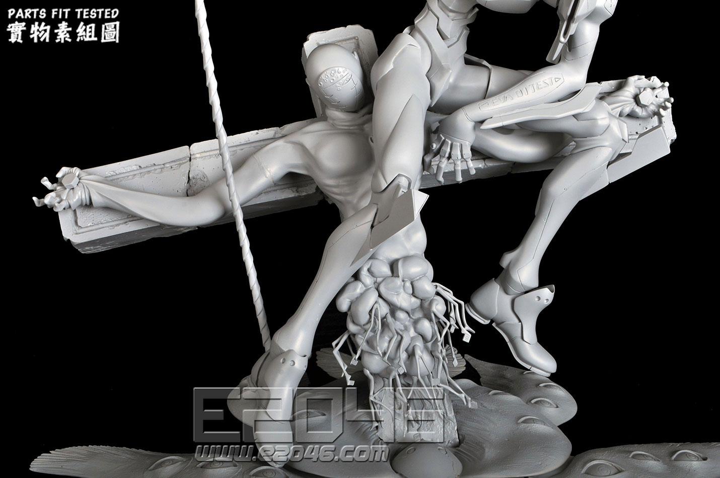 EVA-01 Longinus with Lilith